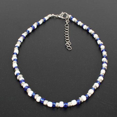 Fashion bohemian rice beads choker NHCT152718's discount tags