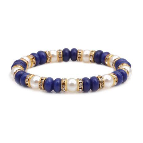 Bracelet Perle Abacus Perle de Mode Or Vert NHYL152724's discount tags