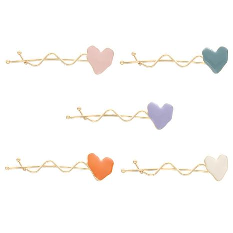 Fashion Love Drops Candy Candy Alloy Hair Accessories NHHN152745's discount tags
