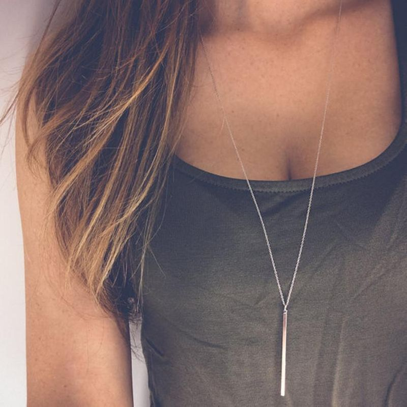 Fashion silver alloy necklace NHPF152772