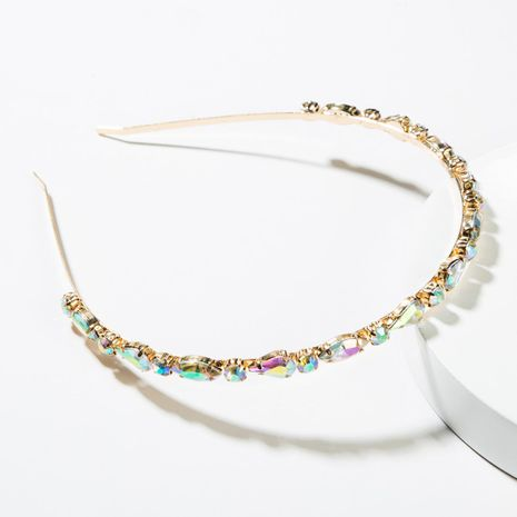 Fashion alloy color rhinestone headband NHJE152798's discount tags