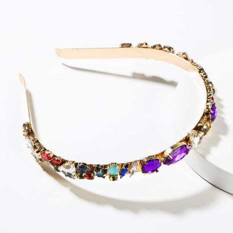 Fashion alloy color rhinestone headband NHJE152800's discount tags