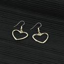 New hollow alloy earrings NHPF152784