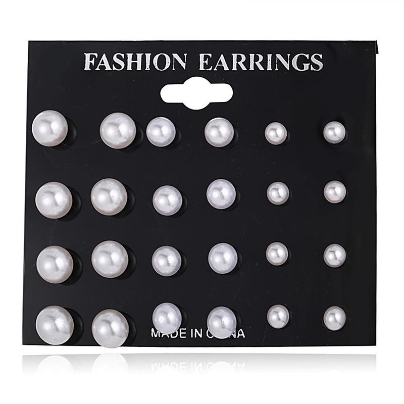 Classic retro simple temperament fashion earrings NHPJ152859