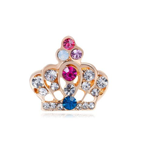 Womens Crown Plating Alloy Brooches NHDR152879's discount tags