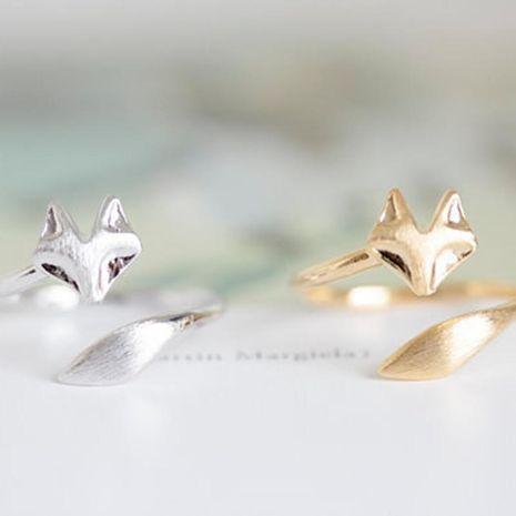 Bague ajustable en alliage Fox Fox NHCU152982's discount tags