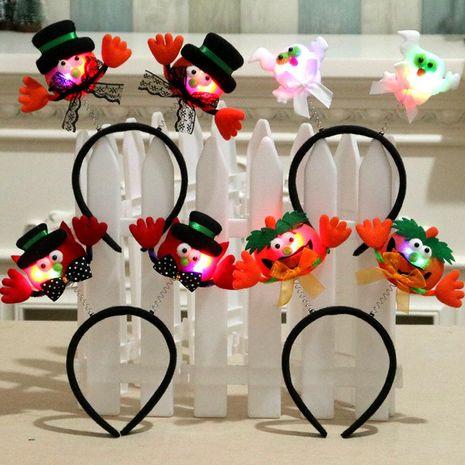 Halloween party glow headband NHMV153075's discount tags