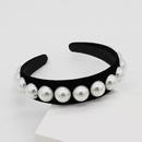 New flannel sleek minimalist pearl headband NHWJ153073