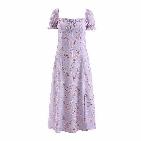 Vestido ajustado floral retro estilo palacio francés NHAM153105's discount tags