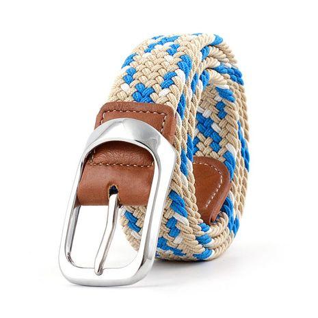 Nuevo cinturón elástico tejido de lona NHPO153273's discount tags