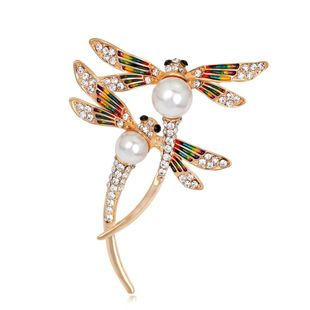 Fashion dripping oil painted brooch NHDR153412's discount tags