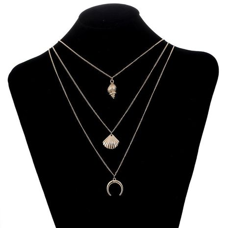Womens geometric plating alloy Necklaces NHSD153431's discount tags