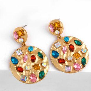 Womens Geometry Alloy Soaring Earrings NHAS153437's discount tags