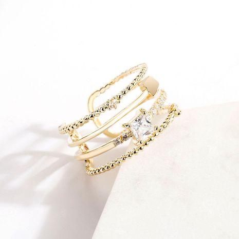 Korean Diamond Open Alloy Ring NHLL153464's discount tags