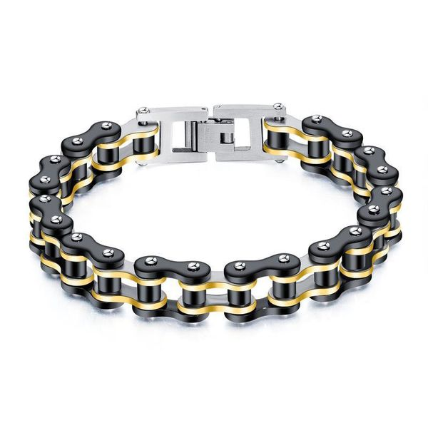 Mens Geometric Plated Stainless Steel Bracelets & Bangles NHOP153538