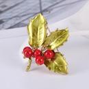 Fashion alloy drip flower brooch NHDR153381
