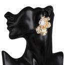 Boucles d39oreilles fleur en alliage de mode NHJJ153560