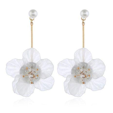 Summer small fresh wild cute flower long earrings NHKQ148967's discount tags