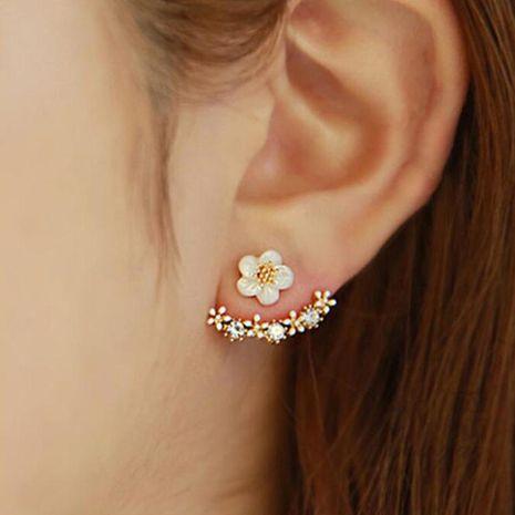 Korean fashion little daisy flower earrings NHDP149018's discount tags