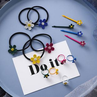 Womens Floral Plating Alloy Hair Accessories NHMS149057's discount tags
