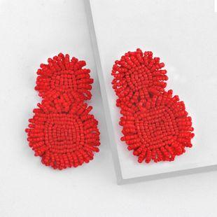 New fashion handmade bead earrings NHAS149060's discount tags