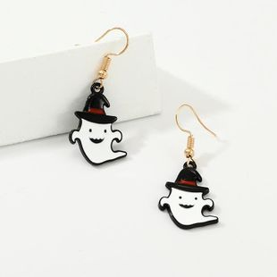 New Halloween Imps Alloy Drop Earrings NHNZ149061's discount tags