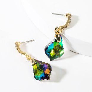 New women ;s acrylic diamond earrings NHJE149071's discount tags