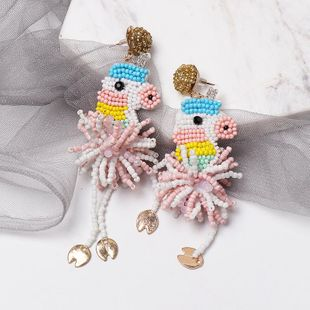 Fashion hand-woven horse beads earrings NHJJ149082's discount tags