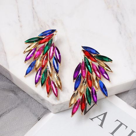Boucles d'oreilles clous ailes plumes neuves NHJJ149084's discount tags
