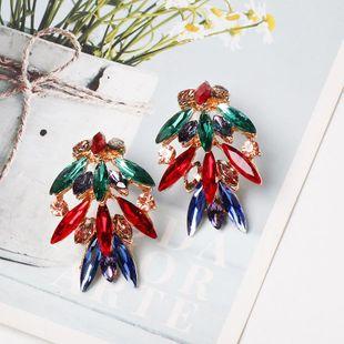 New fashion diamond-studded stud earrings NHJJ149098's discount tags