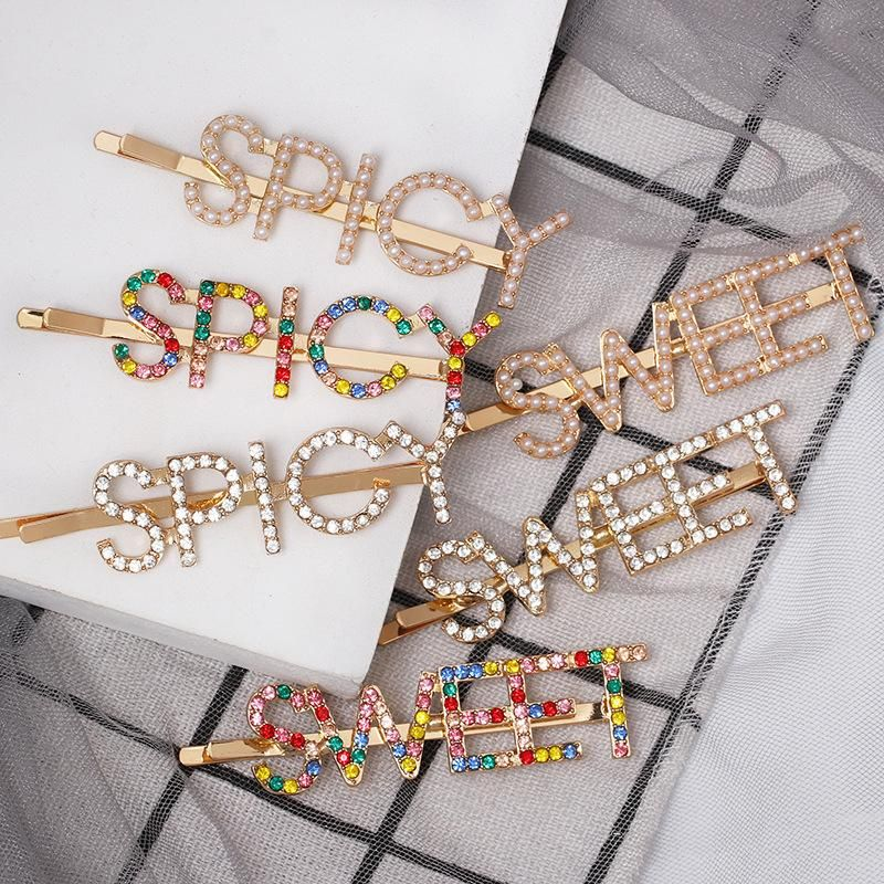 Try diamond colored letters clips NHJJ149130