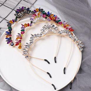 New alloy diamond crown headband NHJJ149140's discount tags