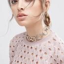 Womens geometric alloy Necklaces NHWF148885