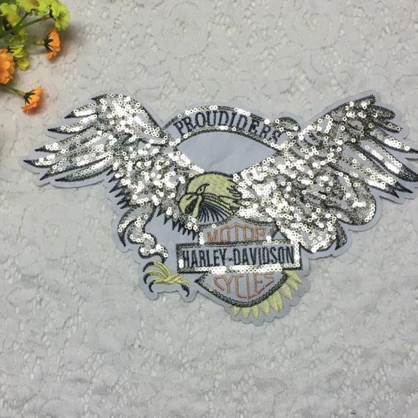 Fashion large patch stickers down jacket eagle cloth stickers NHLT153671