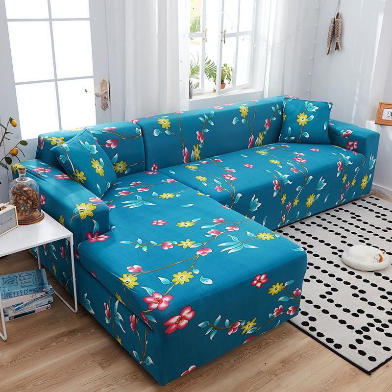 Fashion printing all-inclusive stretch sofa cover 1/2/3/4 seater NHSP153879