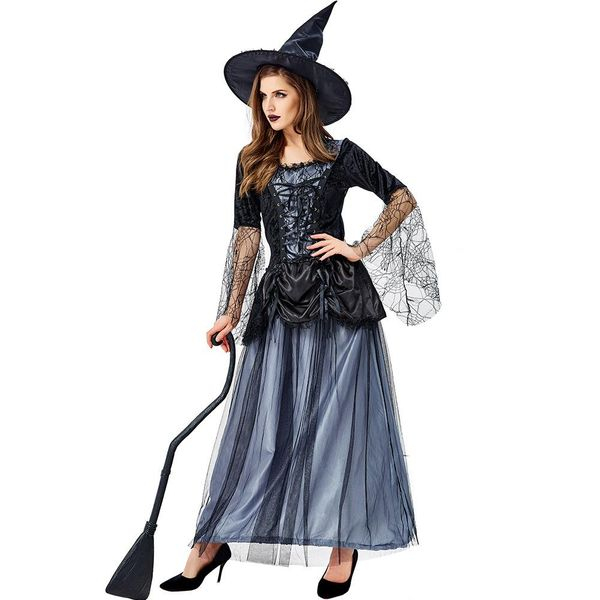 Halloween Cosplay bud silk yarn witch costume NHFE153921