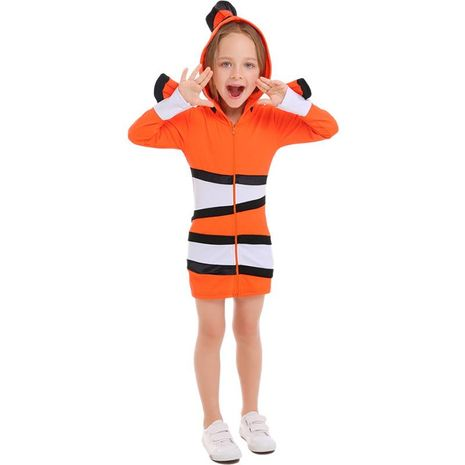 Clownfish parent-child costume Halloween cosplay line up costume NHFE153930's discount tags