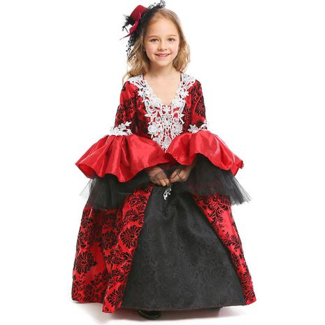 Halloween girl cosplay medieval court dress vampire masquerade NHFE153942's discount tags