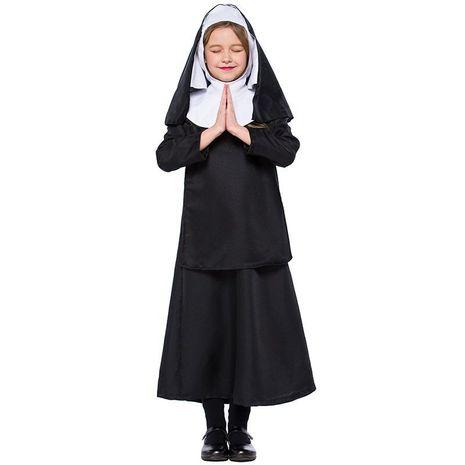 Halloween child nun costume cosplay jesus christ girl costume NHFE153950's discount tags