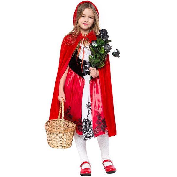 New Halloween cosplay children's Little Red Riding Hood costume NHFE153949