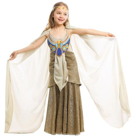 Halloween COS costume ancient Egyptian mythology child Egyptian pharaoh stage costume NHFE153958's discount tags