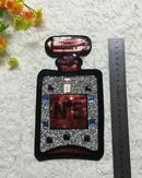 Fine perfume bottle cup sequin patch sticker NHLT153659