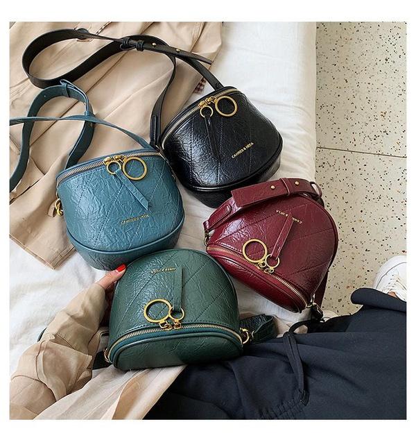Fashion rhombic large capacity saddle bag NHLD154005