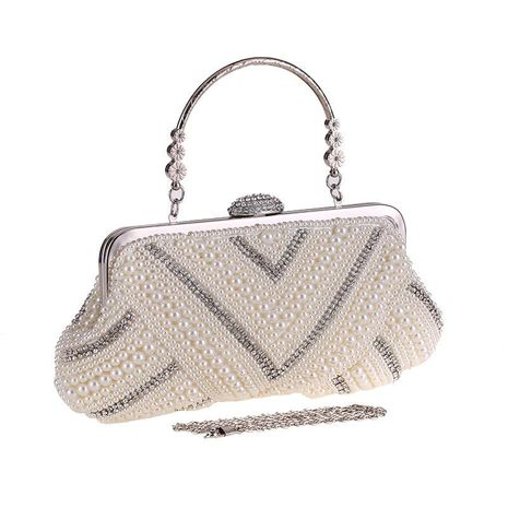 Fashion Pearl Dinner Bag NHYG154009's discount tags