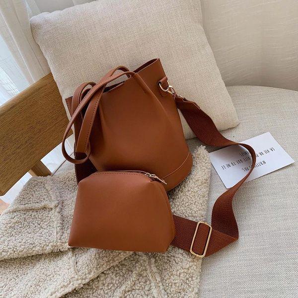 Vintage wild bucket handbag NHPB154019