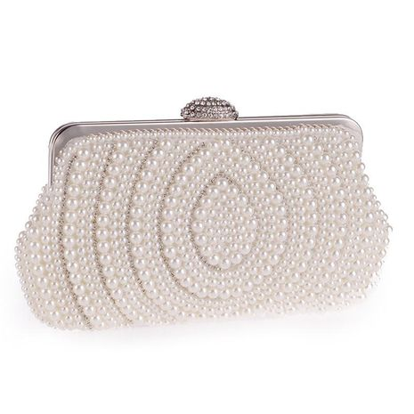 Korean version of the exquisite pearl chain evening bag NHYG154137's discount tags