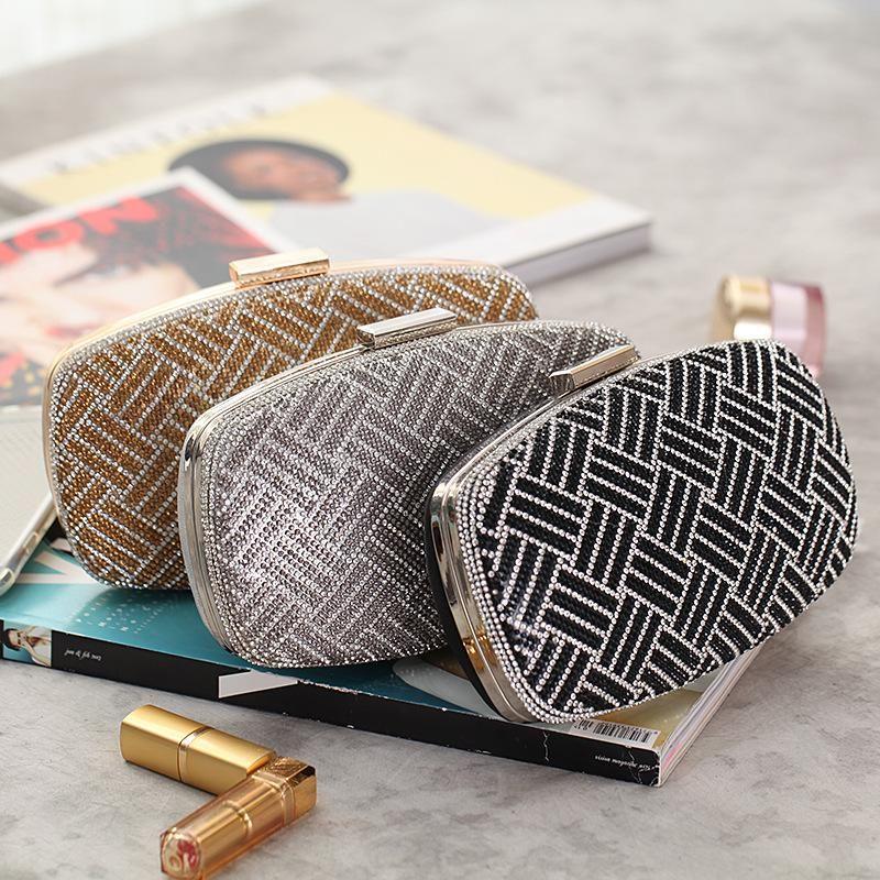 Fashion simple hand holding hard box small square bag NHYG154156