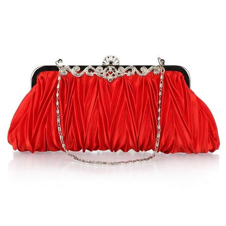 Fashion versatile pleated evening bag NHYG154198's discount tags