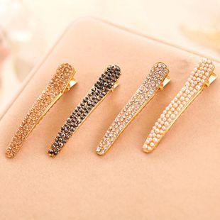 Simple rhinestone hair clip NHDP154386's discount tags