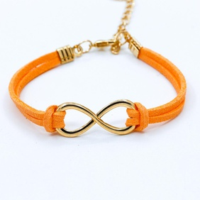 Fashion symbol 8 word twine bracelet NHDP154413